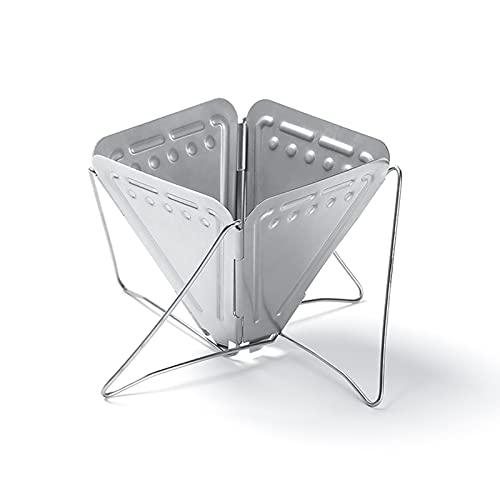 Ziao Cono de acero inoxidable, filtro de café plegable, cuentagotas de café portátil, la cafetera para viajes al aire libre plegable
