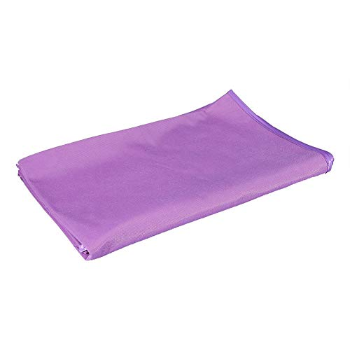 Beauty Bed Sheet Cover met Gat, Zachte Massage Sheet SPA Bed Table Cover Accessoire voor Salon Sap 80*200 Paars
