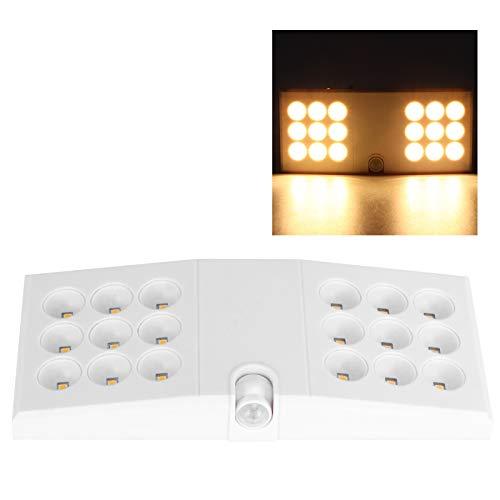 Zwinner Luz con Sensor de Movimiento, luz Nocturna, luz Blanca, Alto Brillo para el hogar, para guardarropas