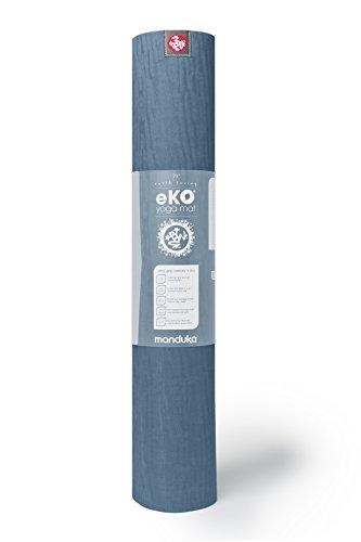 Manduka EKO 180,3cm Standard Yogamatte 5mm, Midnight (2-Tone)