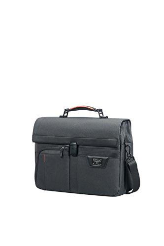 SAMSONITE Zenith - Briefcase 2 Gussets 15.6' Briefcase, 42 cm, 13.5 L, Black