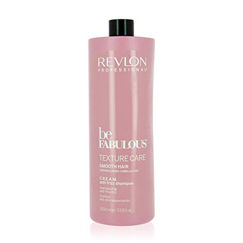 Revlon Professional Be fabulous Texture Care SMOOTH Hair C.R.E.A.M. Anti-Frizz Shampoo, 1000 ml