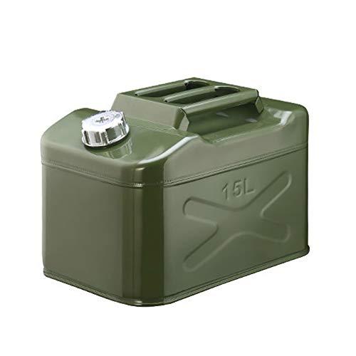 Barril Diesel Latas De Gasolina Tanque De Combustible De Repuesto con Tubo De Aceite para Motos De Coche Yates Cortacéspedes, Tamaño: 15L