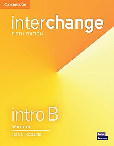 Interchange Intro B - Workbook - 05 Edition