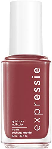 "Essie Schnelltrocknender Nagellack ""expressie"", Nr. 195 notifications on, Rot, Vegane Formel, 10 ml"