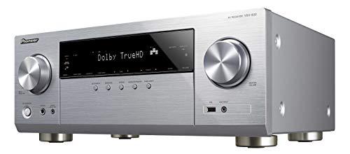 Pioneer VSX-832(S) Récepteur AV 5.1 canaux (Amplificateur HiFi 130 W/Canal, Multiroom, WiFi, Bluetooth, Hi-Res Audio, Dolby TrueHD-DTS:X, Services de Streaming, Radio Internet), Silver