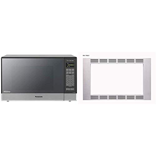 Amazing Deal Panasonic Optional 27 Trim Kit for 1.2 cuft Microwaves, Stainless Steel, NN-TK621SS