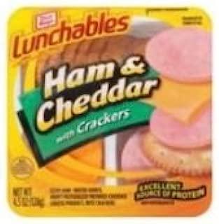 Kraft Oscar Mayer Lunchable Ham and Cheddar Cheese, 4.5 Ounce -- 16 per case.