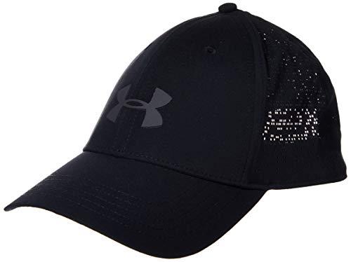 Under Armour Damen Elevated Golfkappe Kappe, Schwarz, Einheitsgröße