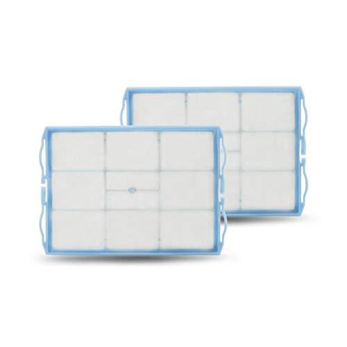 2x CleanMonster Motorfilter komp. zu Siemens/Bosch VZ01MSF 00578863 aus Wirrfaser, waschbar für VSQ5X1230, VS06B112A, VS06B1110 uvm. der Serien VSQ5, VSZ5, VSZ4, VSQ4, VSZ3, VS08, VS06, VS5A/E, VS04