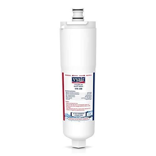 Vyair VYR-26B Remplacement Cartouche Filtre Eau Du Réfrigérateur Pour Bosch Neff Siemens CS-52, 5586605, EVOLFLTR10; 3M Cuno CS-51, CS-452; Abode Aquifier Safelock AT2002; Whirlpool WHKFR-PLUS (1)