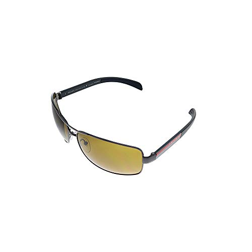 Prada LINEA ROSSA 0PS 54IS Gafas de sol, Gunmetal, 65 para Hombre