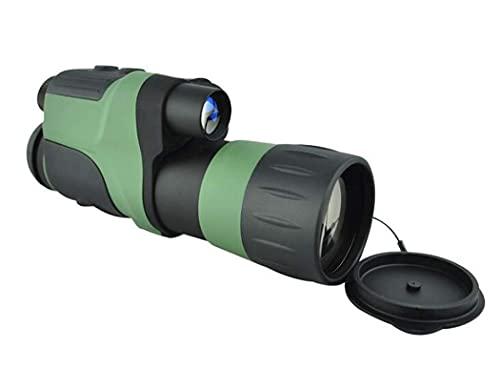 FHISD Digitale Monokular-Teleskope, M01-4X50 Hd Kleine leichte Nachtsicht-Funktionsteleskope, für Vogelbeobachtung, Wandern, Sightseeing, mit Reinigungstuch und Tragetasche
