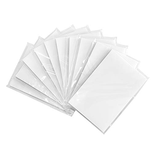 Transparent Sticky Notes Pad 3×2 Inches Strong Self-Stick Notes 10 Pads Waterproof Memo Pads 50 Sheets/Per Pad