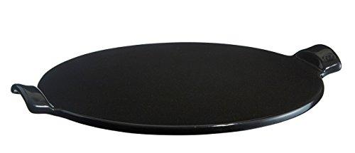 Emile Henry EH799524 LES SPECIALISTES VPC Pierre à Pizza Céramique Noir Fusain Ø 37 cm