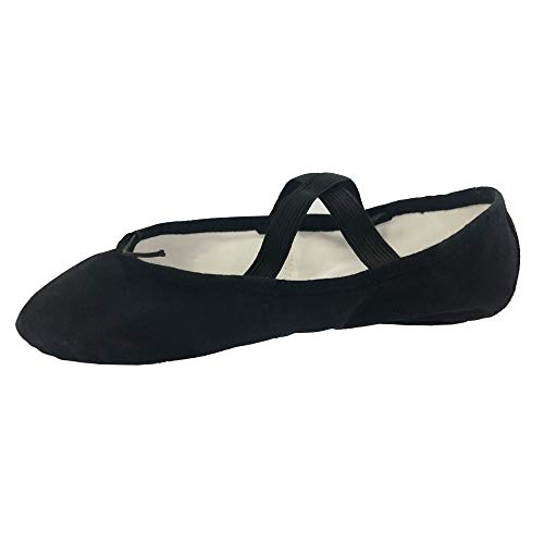 black split sole ballet shoes - 7