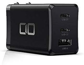 CIO LilNob PD3.0 65W 3ポート 世界最小 急速 充電器 GaN(窒化ガリウム)/PPS/USB PD3.0/Type-C/USB-C/軽量/折畳式プラグ 超コンパクト iPhone12/Android/Macbook Pro...