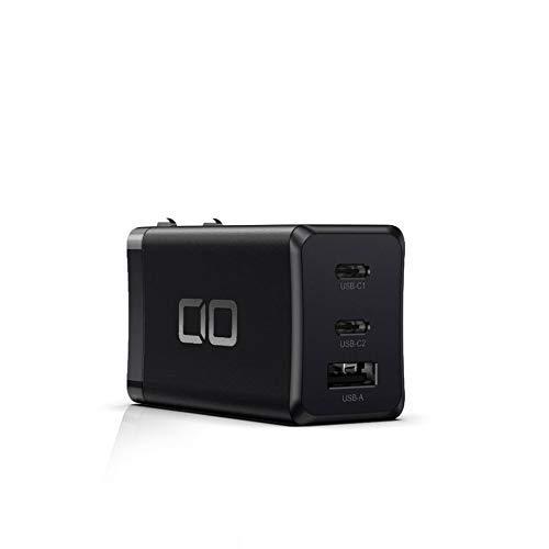 CIO LilNob PD3.0 65W 3ポート 世界最小 急速 充電器 GaN(窒化ガリウム)/PPS/USB PD3.0/Type-C/USB-C/軽量/...