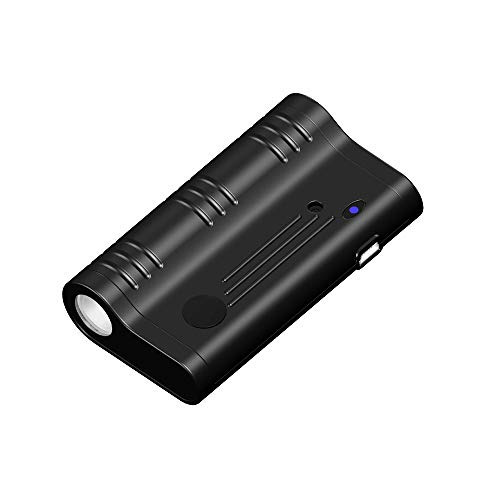 KingNeed Q5 Strong Magnetic Digital Voice Recorder Device with Audio Activated/Schedule Recoding Mode/175h Working Time/8GB Built-in-Memory/Flashlight Function