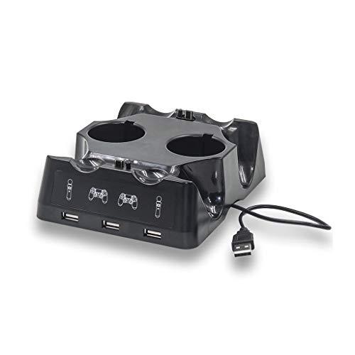 Estação de carregamento Pinhaijing base carregador USB suporte para Playstation 4 PS4 Slim Pro PS VR PS Move acessórios