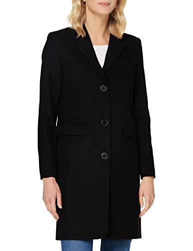SELECTED FEMME Damen SLFELINA Wool Coat B NOOS Mantel, Black, 40