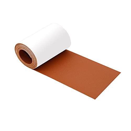 Pegatinas de cuero para sofá, 6,8 x 144,84 cm, cinta adhesiva para reparación de muebles, sofá, asientos de coche, sillones,...