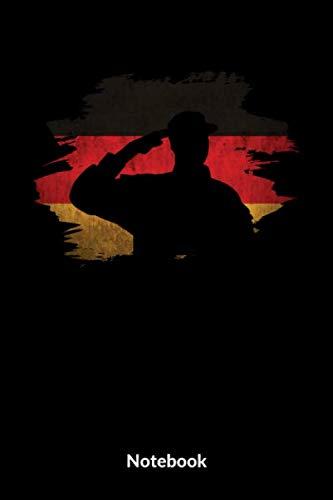 Mein Militär Notebook: A5 Blanko Notizbuch für Soldaten der Bundeswehr! Als Geschenk zum Jahrestag, Valentinstag, Hochzeitstag oder Weihnachten