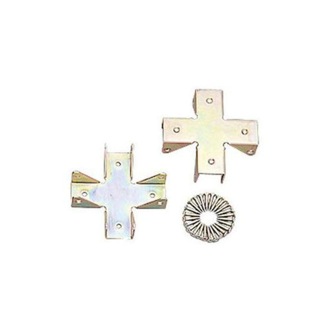方言特異な地下アイリスオーヤマ ボード用 金具 十字キャップ 2個 Z-18XC