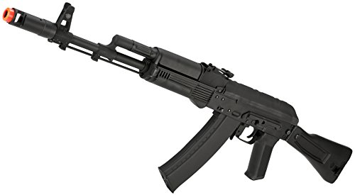 Evike Airsoft - CYMA Standard Stamped Metal Airsoft AK-74 AEG Rifle w/Synthetic Folding Stock (Package: Gun Only) - (48517)