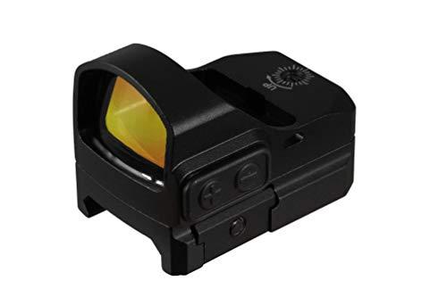 TRUGLO TRU-TEC Micro Red Dot Sight Open Reflex Optic for Rifles, Shotguns and Pistols, Red Dot, RMR Mount