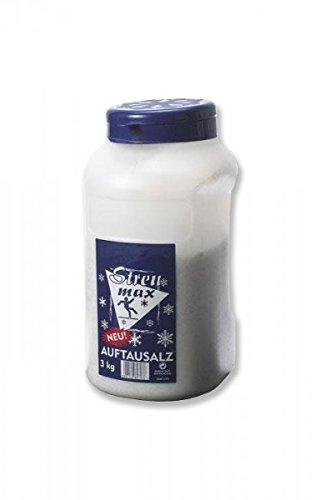 Streusalz Auftausalz Salz 8x3 kg im Dosierer Streumax Auftaumittel - Hervorragende Tiefenwirkung