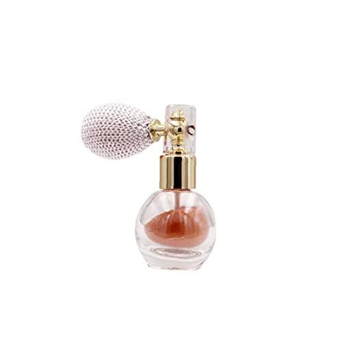 Fivesix Proyección de Polvo de Maquillaje del Brillo del Reflejo aclaran Aroma de resaltado Pigmento en Polvo para la Cara del Cuerpo del Pelo -Rose Oro