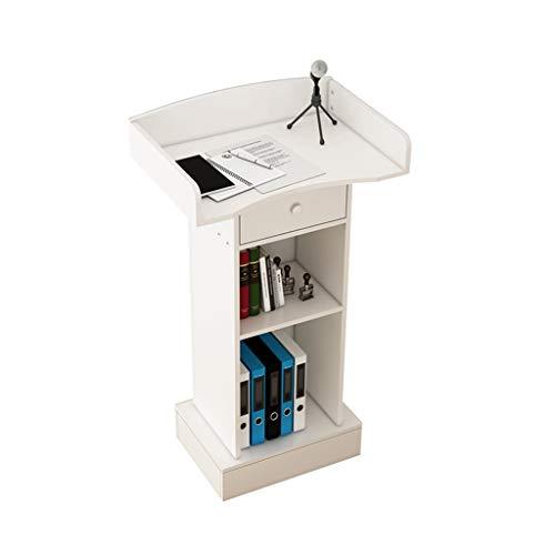 PODIUM Even Podio in Legno, podio multimediale, scrivania Mobile in Altezza, Altezza 110 cm, leggio in Legno per mobili