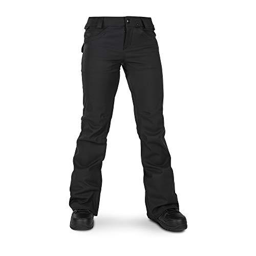 Volcom Women's Species Stretch Snowpant, black, Large