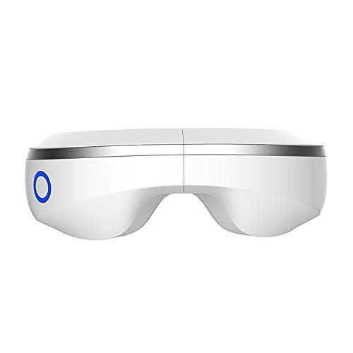 Voice Control Eye Protector-Bluetooth Music Eye Massager, Eye Massager Heat Pack to relieve fatigue myopia,Heat Air Compress for Eye Relaxation Improve Sleeping