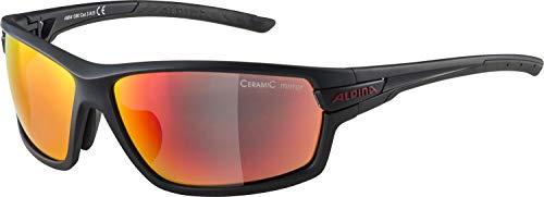 ALPINA Unisex - Erwachsene, TRI-SCRAY 2.0 Sportbrille, indigo matt-cherry, One Size
