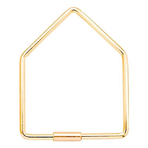 Donkey Products Hello Sparkels Schlüsselanhänger Schlüssel Anhänger Gold L 7.2cm