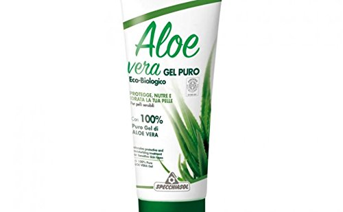 Specchiasol Aloe Vera Gel Puro Eco-Bio