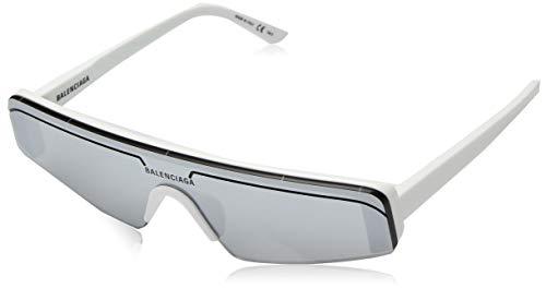 Balenciaga Gafas de Sol BB0003S WHITE/SILVER unisex