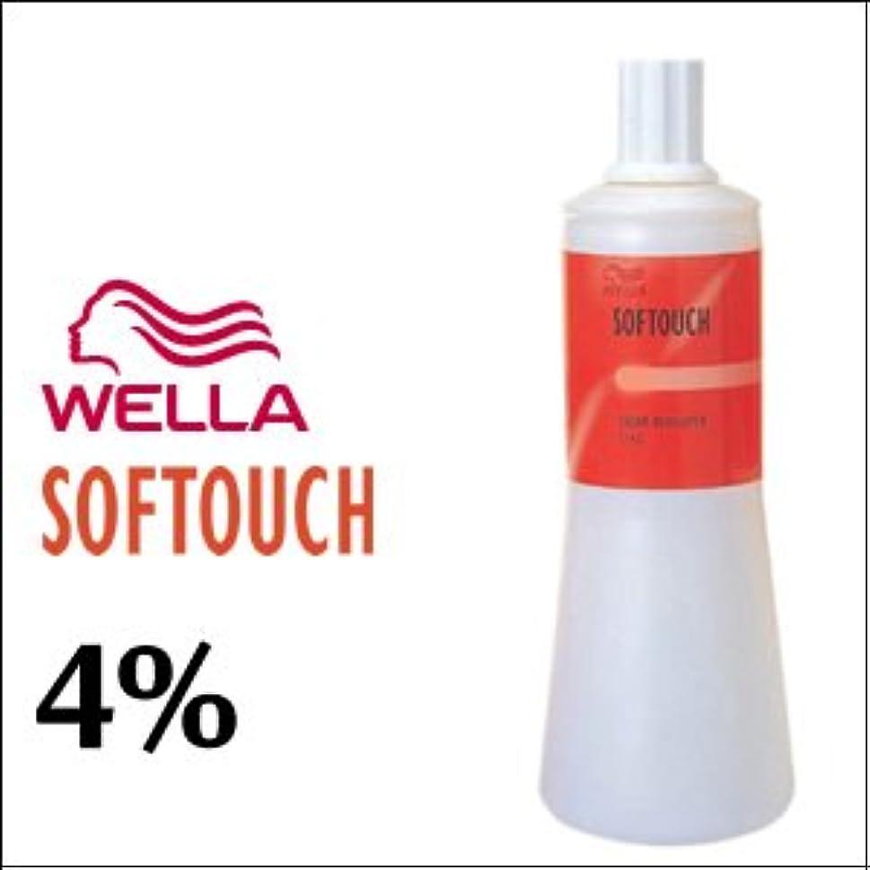 水素教師の日気体のウエラ ソフタッチ クリームディベロッパー 4% 1L
