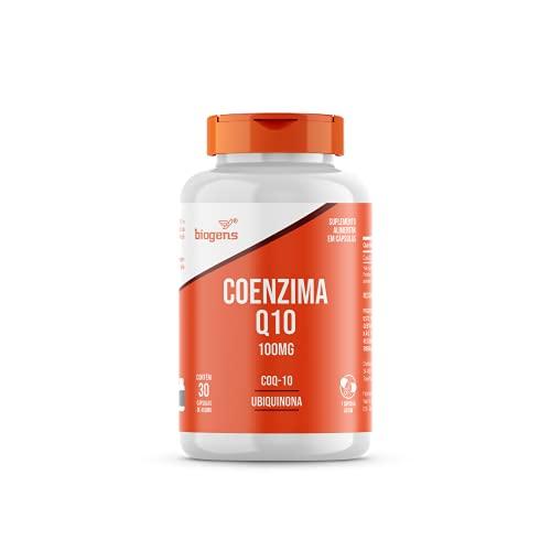 Coenzima Q10 100mg Coq-10 Ubiquinona 30 Caps biogens