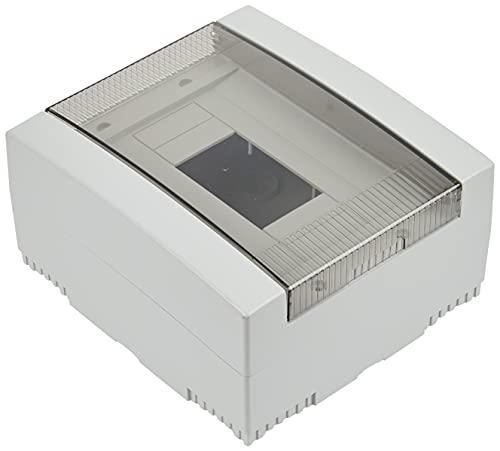 Electraline 60436 Centralino da Parete con Portello, 8 Moduli, Bianco