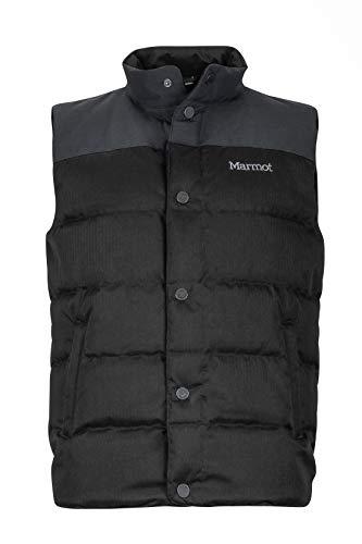 Marmot Fordham Daunenweste für Herren| Jet Black| Größe S | Bekleidung > Westen > Daunenwesten | Marmot