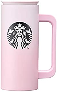 Starbucks スターバックス 2021 バレンタイン SS スィート ピンク ニュートン マグカップ SS Sweet pink newton tumbler 355ml(12oz) 海外限定品 日本未発売 スタバタンブラー