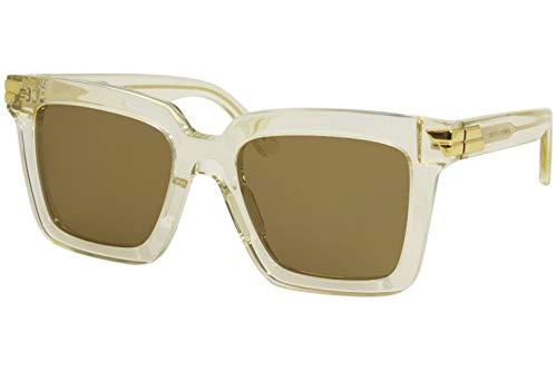 Gafas de Sol Bottega Veneta BV1005S CRYSTAL/BROWN 53/21/145 mujer