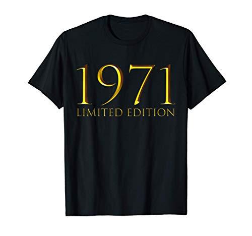 50. Geburtstag Damen Herren 50 Jahre 1971 Lustig Geschenk T-Shirt