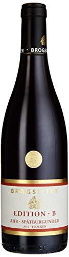 Weinkellerei Brogsitter Spätburgunder Edition B 2014/2015 Trocken (3 x 0.75 l)
