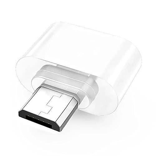 Cmstop Adaptador USB 2.0 Mini Tipo C OTG Micro USB Macho a USB Hembra convertidor de Cable Adaptador de Disco en U para teléfonos Tablet PC Android