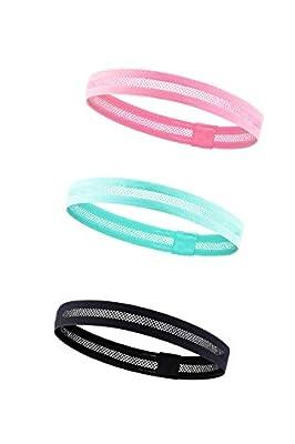 Kereith Damen Sport-Stirnband leicht