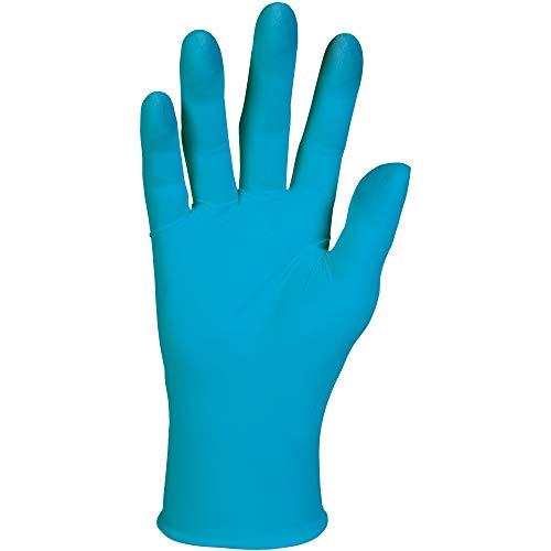 KLEENGUARD G10 Work Gloves, Medium, Blue, 100 per Box
